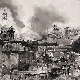 Andrea Mazzocchetti - The Imperial Fora, Rome - 07