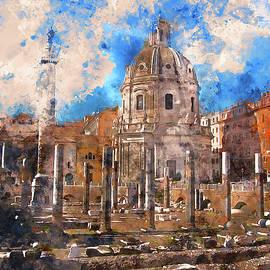 Andrea Mazzocchetti - The Imperial Fora, Rome - 12