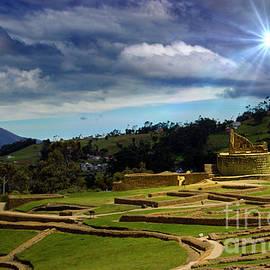 Al Bourassa - The Inca-Canari Ruins At Ingapirca IX