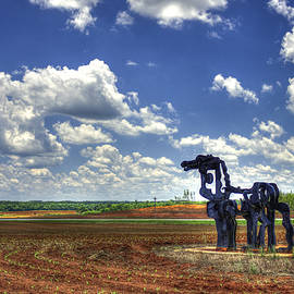 The Iron Horse Planted Corn  by Reid Callaway