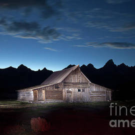 Greg Kopriva - The John Moulton Barn on Mormon Row at the base of the Grand Tetons Wyoming