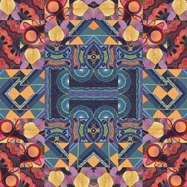 Helena Tiainen - The Joy of Design Mandala Series Puzzle 5 Arrangement 7