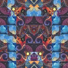 Helena Tiainen - The Joy of Design Mandala Series Puzzle 6 Arrangement 5
