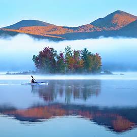 Matt Shiffler - The Kayaker in the Fog