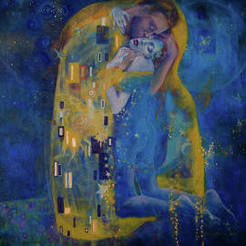 The Kiss by Dorina Costras