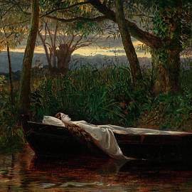 Walter Crane - The Lady of Shalott