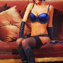 The Lady Wears Blue by Mary Bassett - Mary Bassett