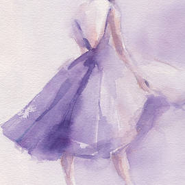 The Lavender Dress by Beverly Brown