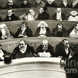 The Legislative Belly  View of the Ministerial Benches - Honore Daumier