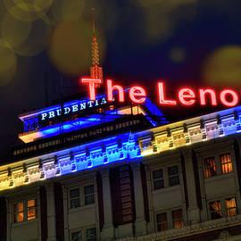 Joann Vitali - The Lenox and the Pru - Boston Marathon Colors