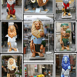 The Lions Of Munich by Diana Haronis