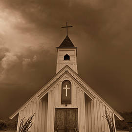 The Little Chapel in Sepia