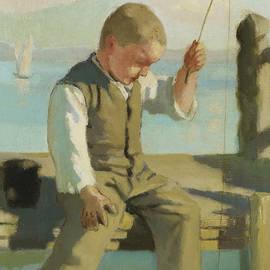 The Little Fisherman - Ferdinand Hodler