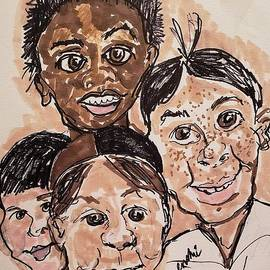 The Little Rascals by Geraldine Myszenski