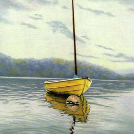 The Yellow Sailboat