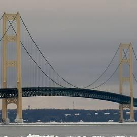 Jason Asselin - The Mackinac Bridge On Ice