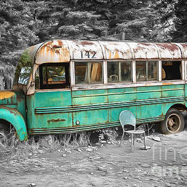 The Magic Bus from Into the Wild by Eva Lechner