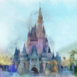 Thomas Woolworth - The Magic Kingdom Castle WDW 05 Photo Art