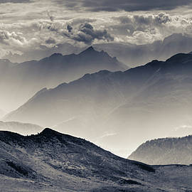 The majesty of the mountains Nr. 3 by Mah FineArt