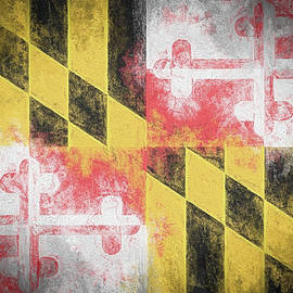 The Maryland Flag by JC Findley