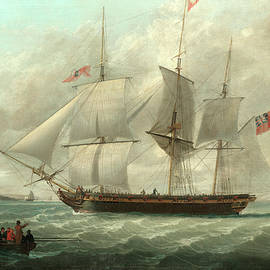 The merchantman Barton at Liverpool - John Jenkinson