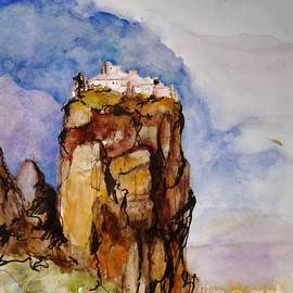 Karina Plachetka - The Meteora Monastery