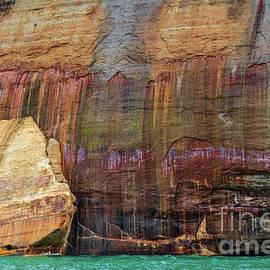 The Mitten - Pictured Rocks National Lakeshore in Munising Michigan by Craig Sterken