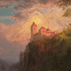 The Monastery of San Pedro, Our Lady of the Snows - Frederic Edwin Church