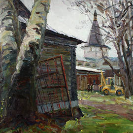 Juliya Zhukova - The monastery yard