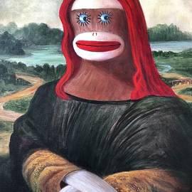The Monkey Lisa by Randy Burns