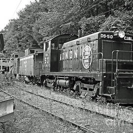 The Monon Line Black And White by Steve Gass