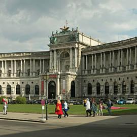 Robert Murray - The Neue Burg, Vienna, Austria.