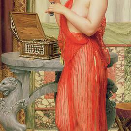 The New Perfume, 1914 - John William Godward