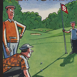 The New Yorker Cover - August 25th, 1956 by Peter Arno