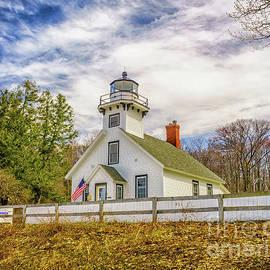 The Old Mission Point Lighthouse by Nick Zelinsky