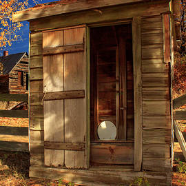 The Old Outhouse by James Eddy