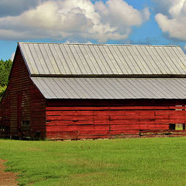 The Old Red Barn by Cynthia Guinn
