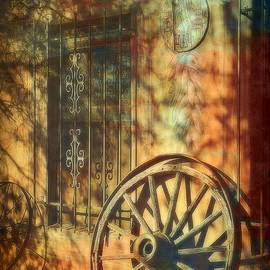 The Old Wagon Wheel by Toni Abdnour