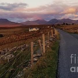 The Open Road In Connemara, Ireland by Poet's Eye