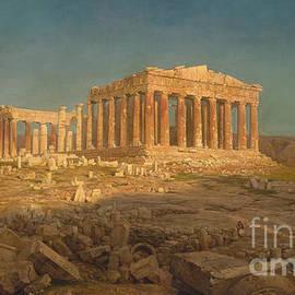 The Parthenon, 1871 - Frederic Edwin Church