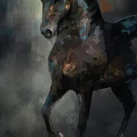 The Paso Fino 3 Horse Art by Jai Johnson
