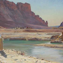 The Passing Caravan - Eugene Girardet