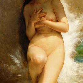 William Adolphe Bouguereau - The pearls