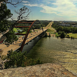 The Pennybacker Bridge by Judy Vincent