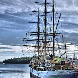 George Cousins - The Picton Castle docked in Lunenburg