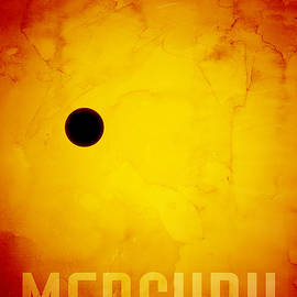 The Planet Mercury by Michael Tompsett