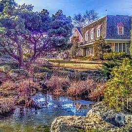The Pond At Peddler's Village by Christopher Lotito