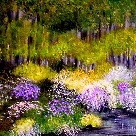 The Pond In Spring by Sandra Young