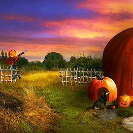 The pumpkin patch by Mike Savad - Abbie Shores