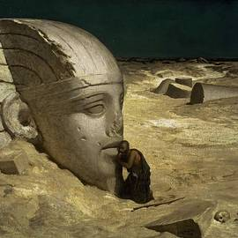 Elihu Vedder - The Questioner of the Sphinx